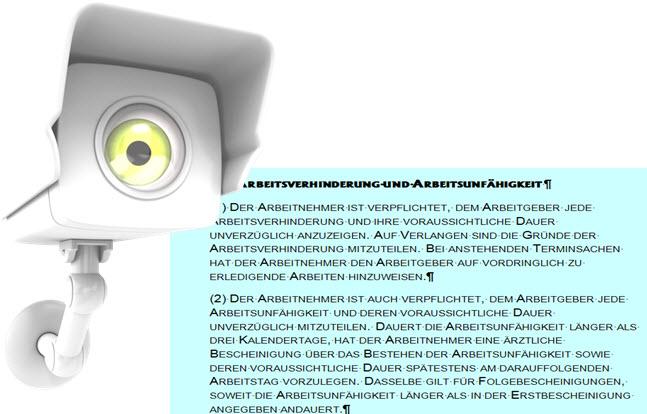 Observation eines Arbeitnehmers durch einen Detektiv kann für den Arbeitgeber teuer werden, wenn die Überwachung auffliegt!